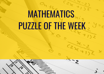 Weekly Mathematics Puzzle