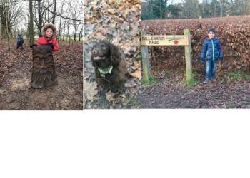 Reception's Winter Walk Challenge