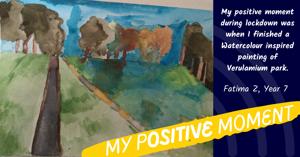 Wall of positivity 8