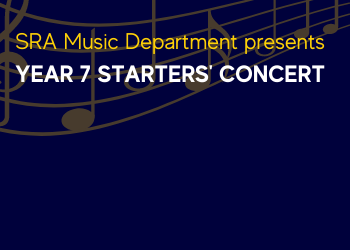 SRA Music Department - Year 7 Starters' Concert
