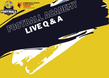 Samuel Ryder Football Academy - Live Q & A Session
