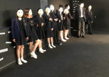 Behind the Mask Project with Trestle Theatre