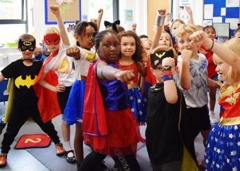 Superhero Day for Year 1