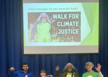 Go Push, go! Climate Activist visits Samuel Ryder Academy
