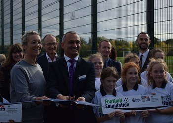 Opening of our fantastic 3G Pitches!