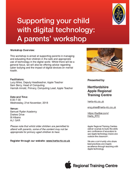 Supporting your child in using digital media