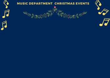 Music Department Christmas Events