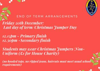 End of Term Arrangements