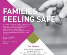 Feb Mar 20   Families Feeling Safe