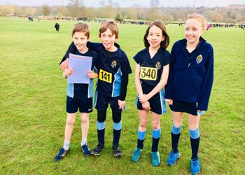 Primary Cross Country success!
