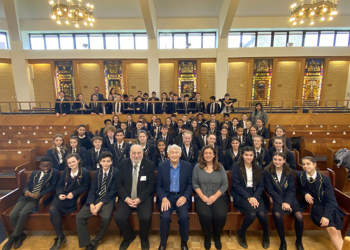 Holocaust Memorial trip to Elstree and Borehamwood United Synagogue