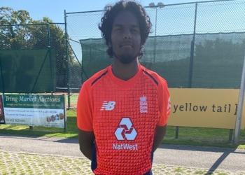 First England Cricket Game for Y13 Student Sam Kumar