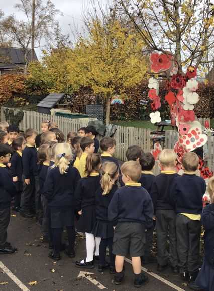 EYFS Remembrance Tree